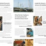 Wooden Boat School brochure inside