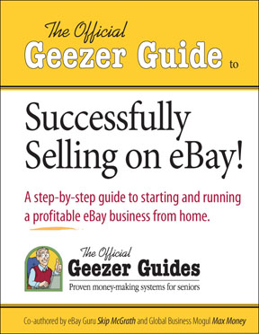 Cover template for Geezer Guides series